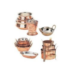 Kitchen Vessels Set Ninja Mega System Costco Utensils Suppliers In Bangalore Mahesh Hotelware Copper Ware