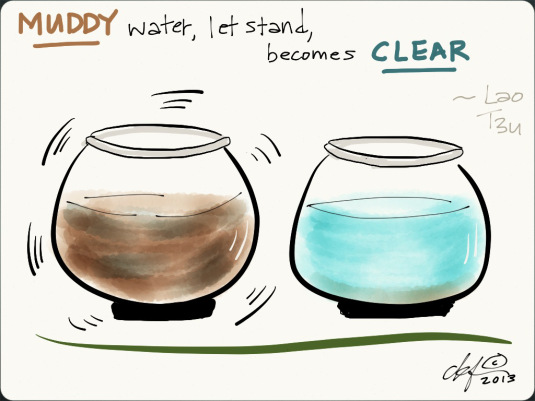 Muddy Water Lao Tzu Quote