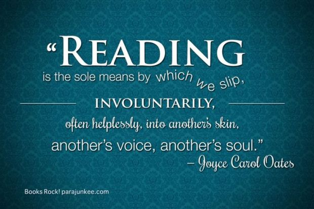 Joyce Carol Oates On Reading