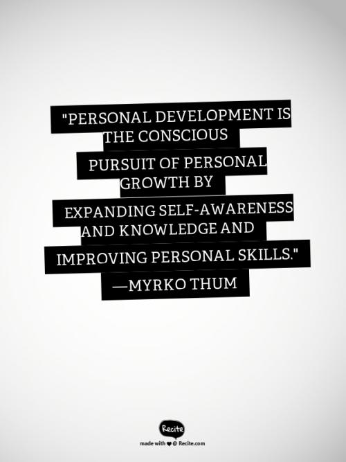 Personal Development Definition
