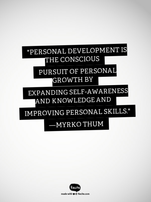 Personal Development Definition