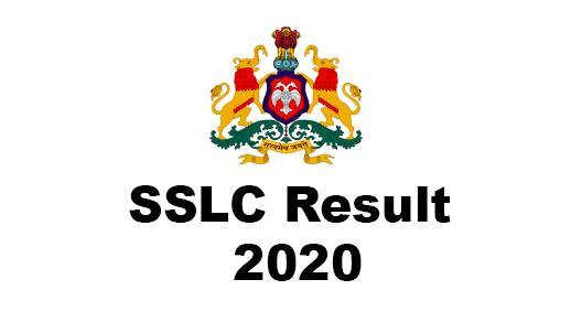 Karnataka SSLC Result 2020 , Karnataka 10th Result 2020
