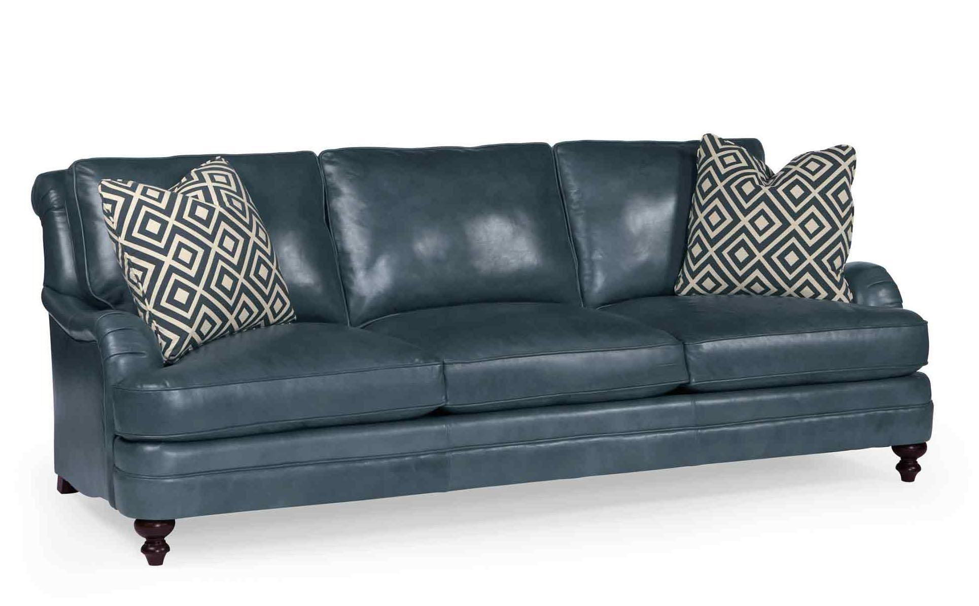 blue leather sofas two tone sectional sofa recliners couch images frompo 1