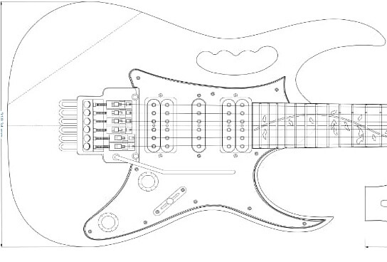 JEM Electric Guitar Plans