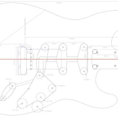 Telecaster Electric Guitar Plans