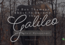 Is Ron Thomson About to Become the Galileo of Elephant Management