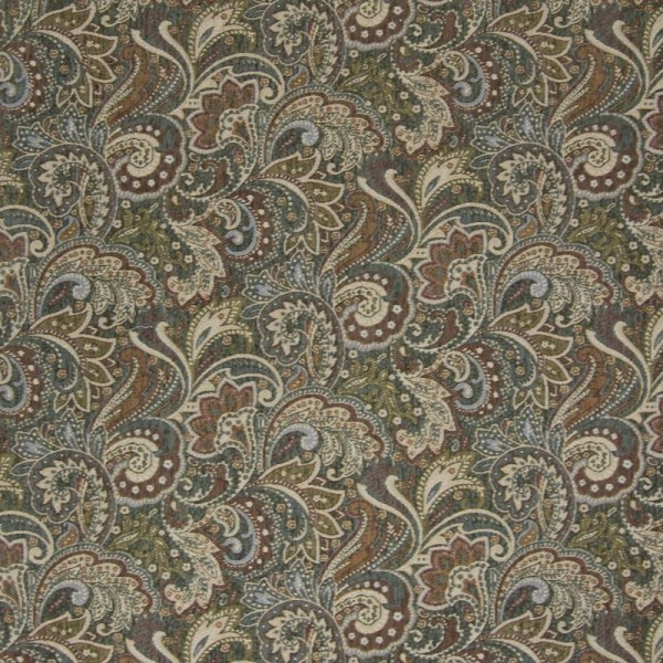 B2879 Sage Green Tapestry Upholstery - Greenhouse Fabric