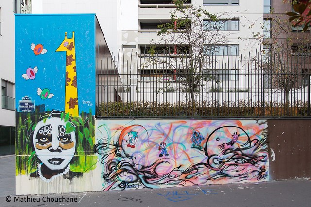 Bastek x Kristx x Nemi UHU x Sara Chelou rue Francoise Dolto