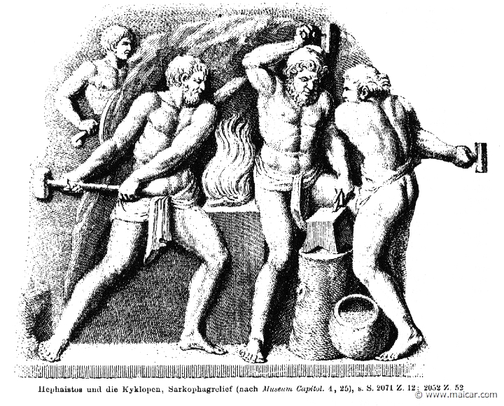 Hephaestus with the Cyclopes