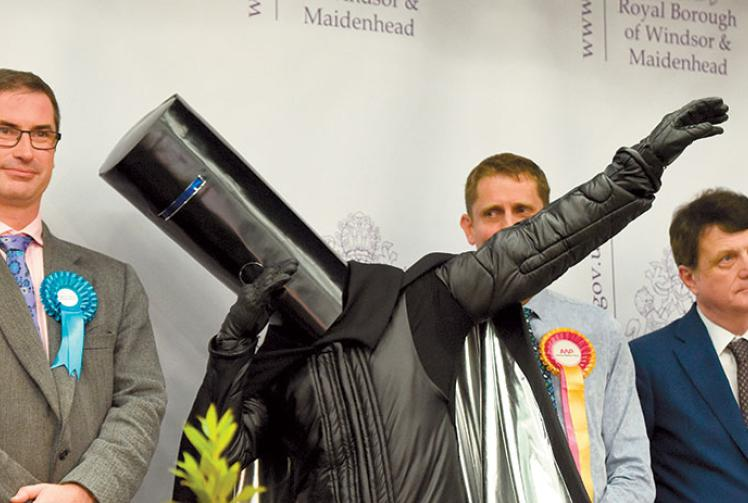 Lord Buckethead Fever Sweeps The Nation Maidenhead