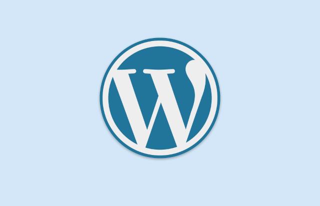 WordPress logo blue2