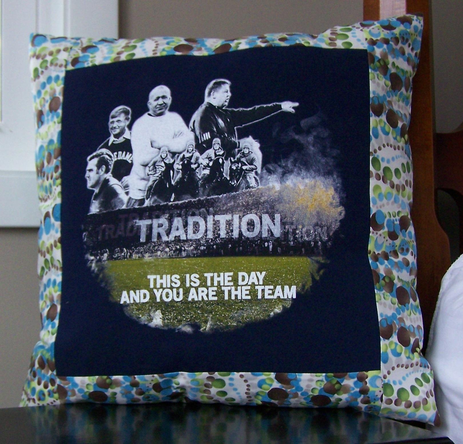tutorial t shirt pillow maiden jane