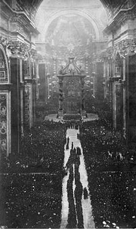 Photo of Joan of Arc's Beatification Ceremony at The Vatican