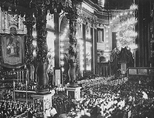 Photo of Joan of Arc's Canonization Ceremony at The Vatican