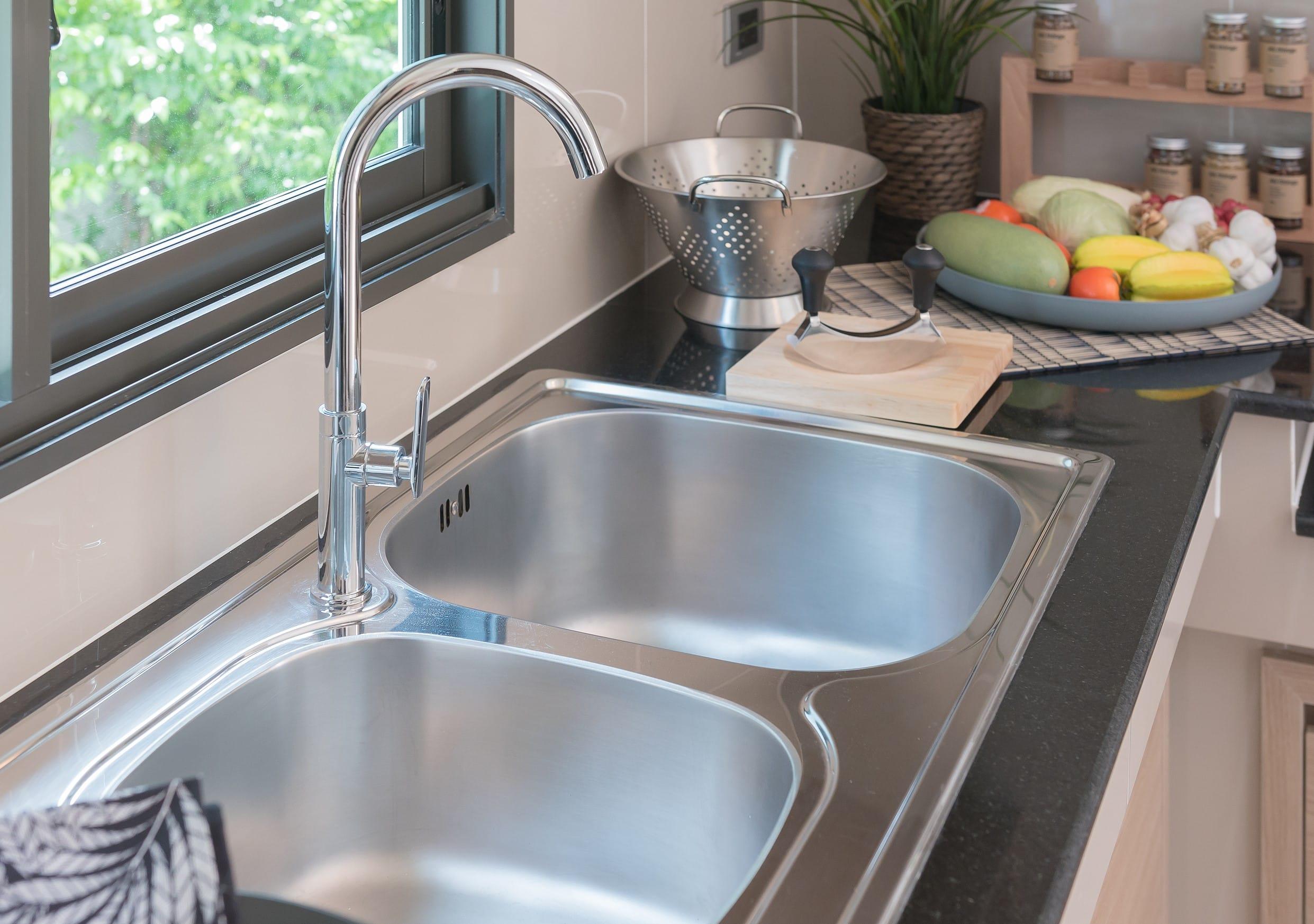 bathroom and kitchen sink