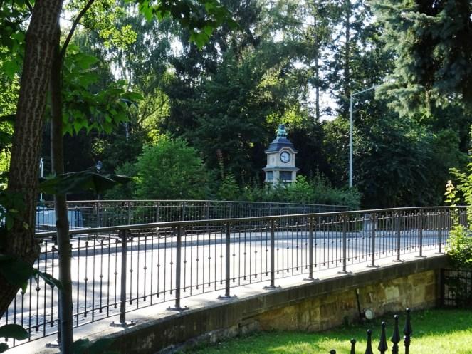 Brücke über den Lockwitzbach - Dresden Lockwitz