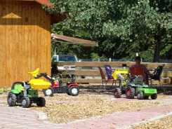 Ferienwohnung Dresden Lockwitz - Kindertraktoren