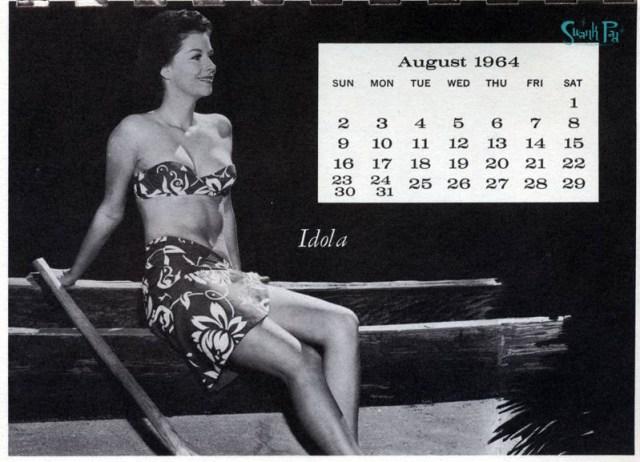Idola - Miss August 1964