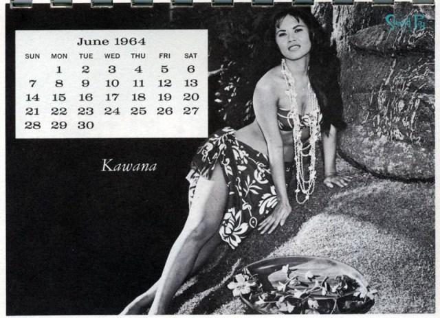 Kawana - Miss June 1964
