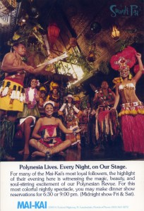 Polynesia lives, every night, on our stage.