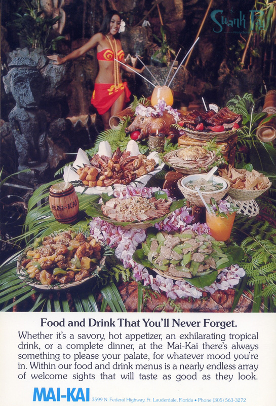 Food and drink that you'll never forget.
