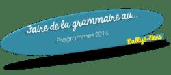 Programmes 2016 : Faire de la grammaire au Cm2 - F. Picot - Documents élèves