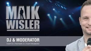 Hochzeit DJ Event DJ Moderator Maik Wisler