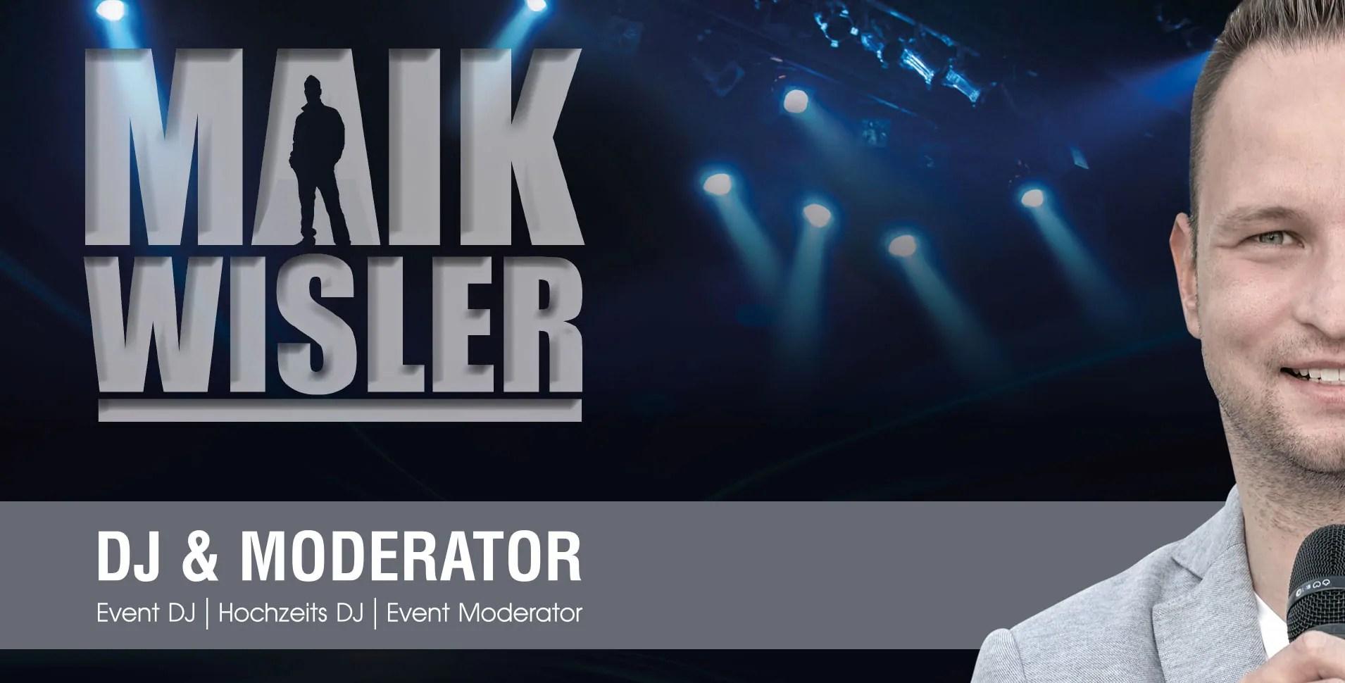 DJ Maik Wisler, Event, Hochzeit, Party