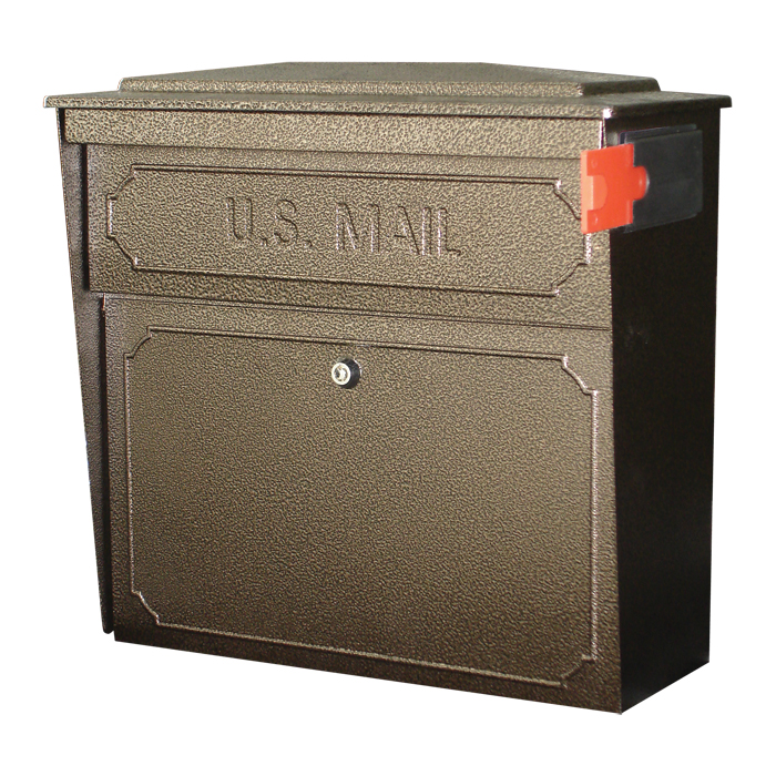 Locking Wall Mount Mailbox