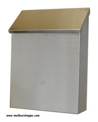 Stainless Steel Wall Mount Mailboxes