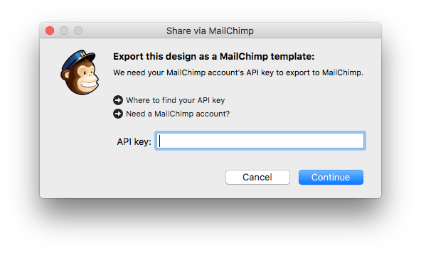 Exporting A Design To MailChimp Mail Designer Create HTML Email - Export mailchimp template