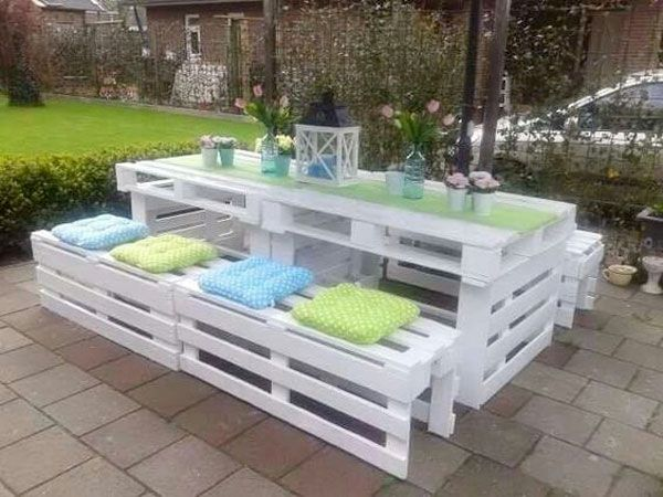 Salon de jardin dangle en palette  Maillerayefr jardin