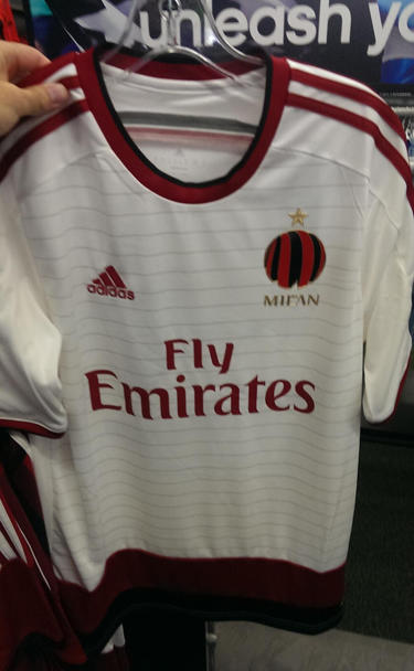 Maillots de football Milan AC