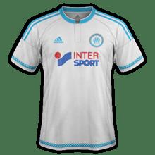 Maillot Domicile OM de foot