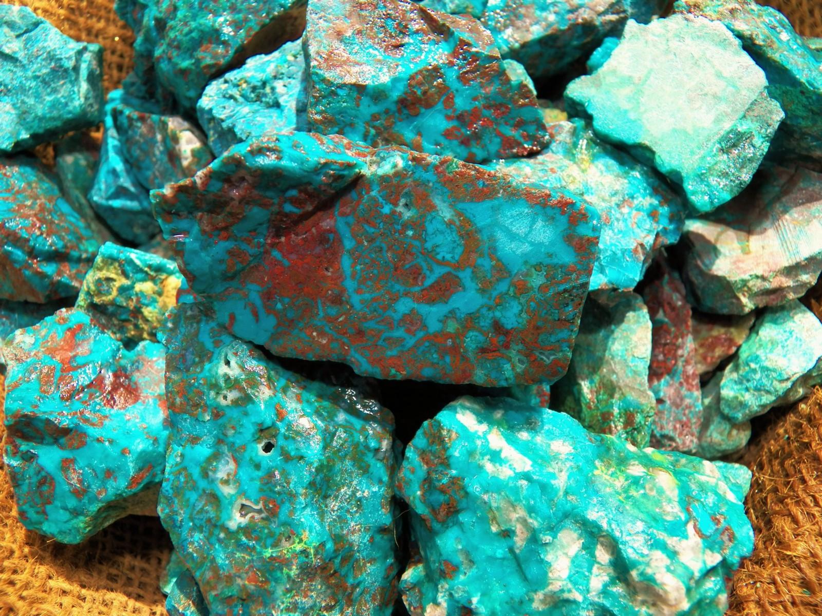 Rough Chrysocolla Turquoise
