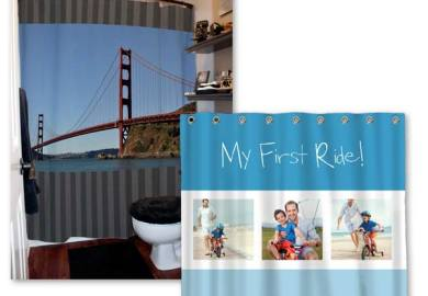 Personalized Shower Curtains Photo Shower Curtains Mailpix