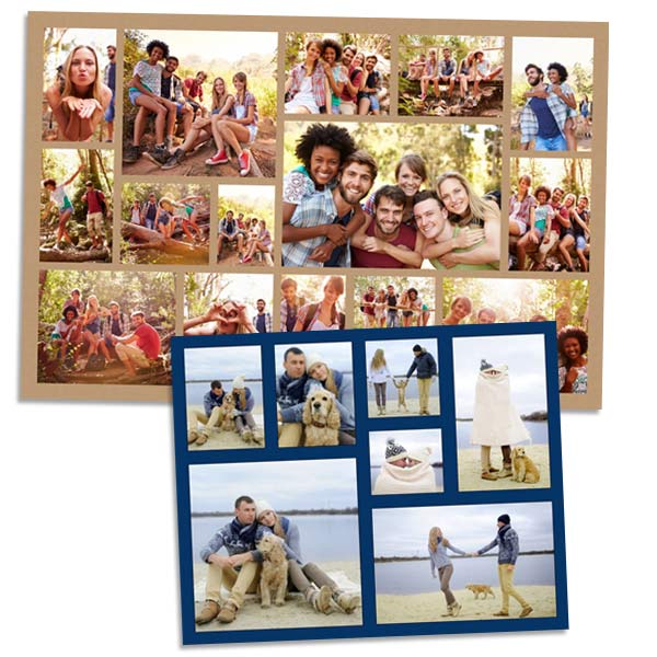 photo collages and posters