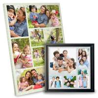 Photo Collage Canvas | Custom Photo Wall Collage | MailPix