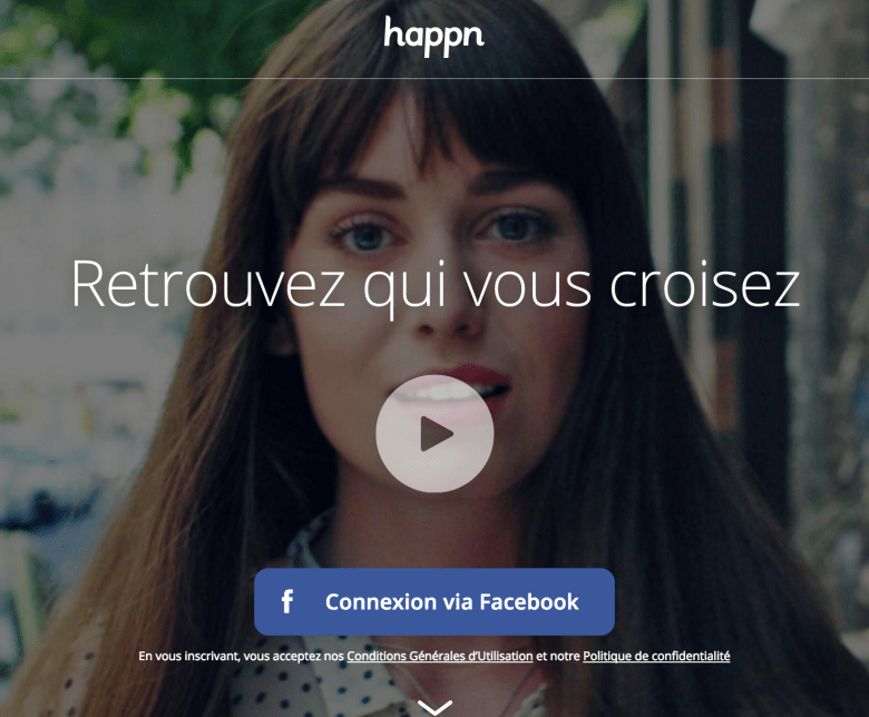 "Happn is the ""I was to shy to talk to that person app"""