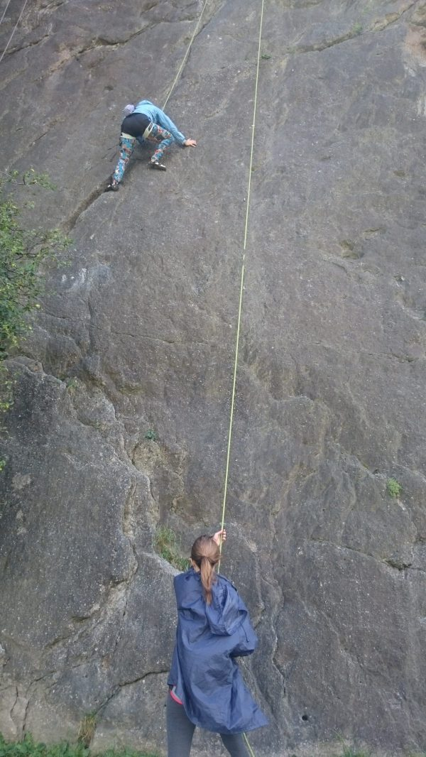 Improved Belaying - Perfecting Technique Richard'