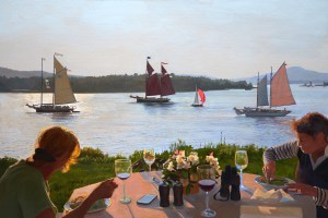 Dinner Alfresco by William B. Hoyt