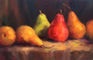 Red, Green and Gold by Sandra Dunn