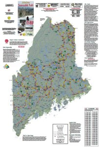Maine ITS Map - Snowmobile Trails in Maine. Download & Print Free Map!