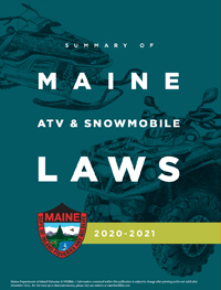 ATV & Snowmobile laws book cover