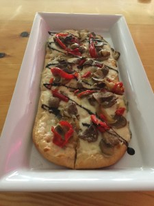 Photo of Kielbasa Flatbread