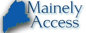 Mainely Access logo