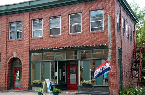 The home of One Lupine Fiber Arts in Bangor.