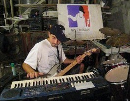 English: Matty G the Musician doing a One Man ...