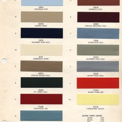 2004 Ford Mustang Engine Diagram Volvo Penta 280 Outdrive 1966 Color Chart With Paint Mixing Codes Maine Colors