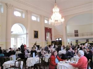THe Pump Room is an elegant and impressive Georgian retreat built by Thomas Baldwin and John Palmer in 1795. ©Hilary Nangle